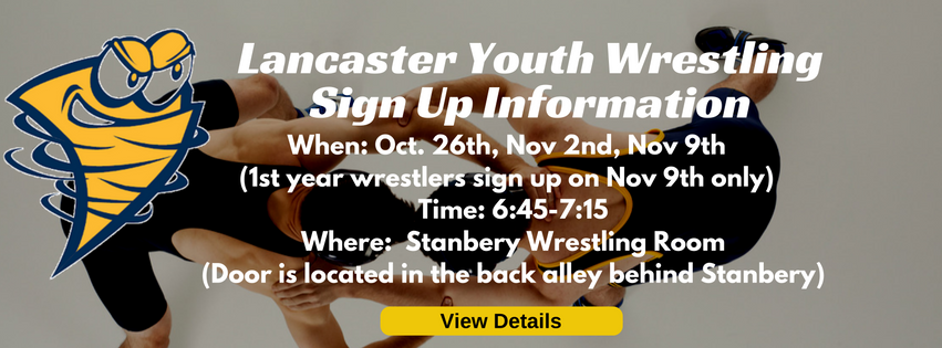 Wrestling Sign Up Event